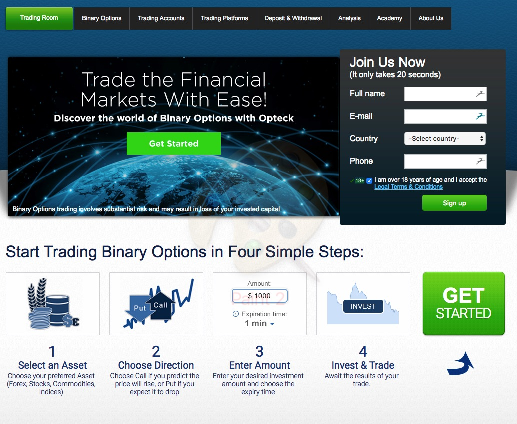 opteck auto trading